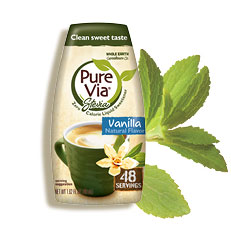 Pure Via Vanilla Liquid 1.6 oz (48 servings)