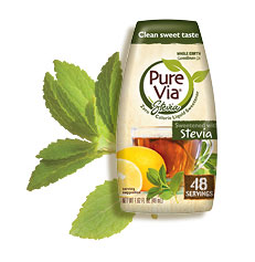 Pure Via Stevia Liquid 1.6 oz (48 servings)