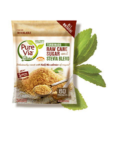 Turbinado and Stevia Blend 1.5lb Resealable Bag